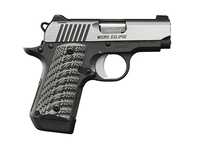 Kimber Micro Eclipse pistol profile