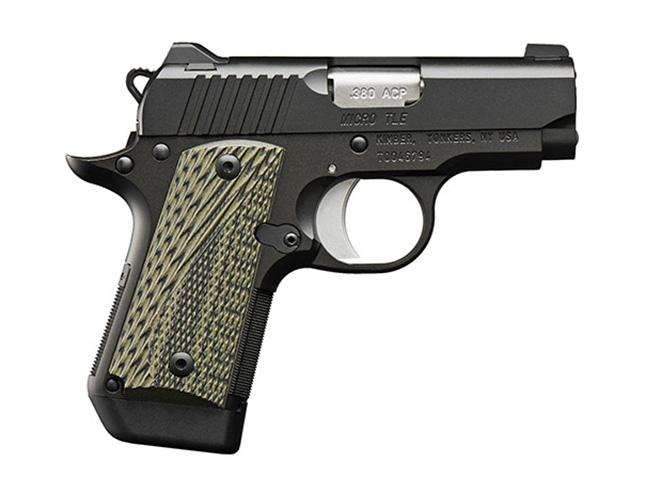 Kimber Micro TLE pistol profile