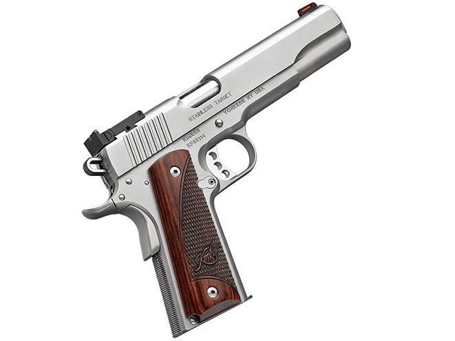 Kimber Stainless 1911 Long Slide pistol