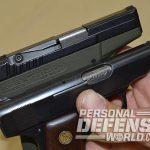 ortgies vest pocket and kel-tec p-32 pistol ejection port