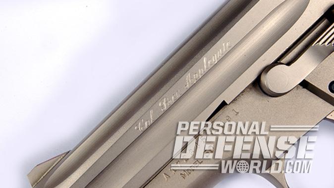 rex applegate full house devel model 59 pistol engraving