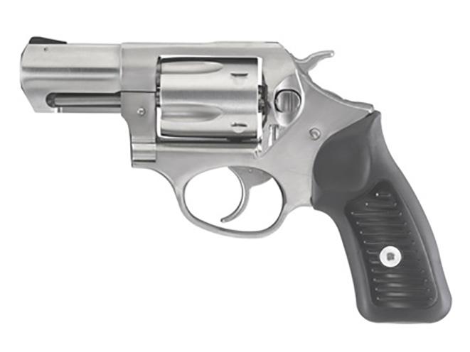 Ruger SP101 9mm revolver left profile