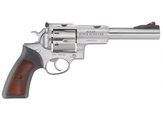 Ruger Super Redhawk 10mm revolver right profile