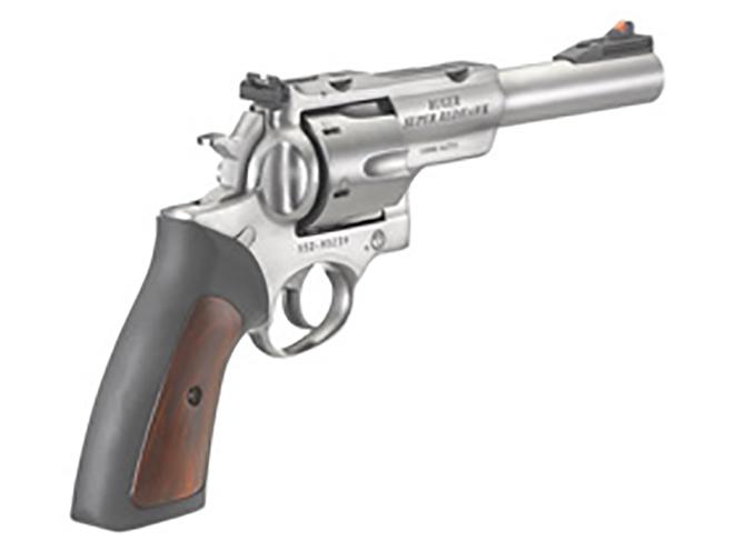 Ruger Super Redhawk 10mm revolver rear angle
