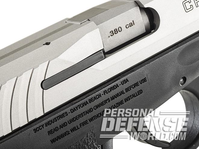 SCCY CPX-3 PISTOL ejection port