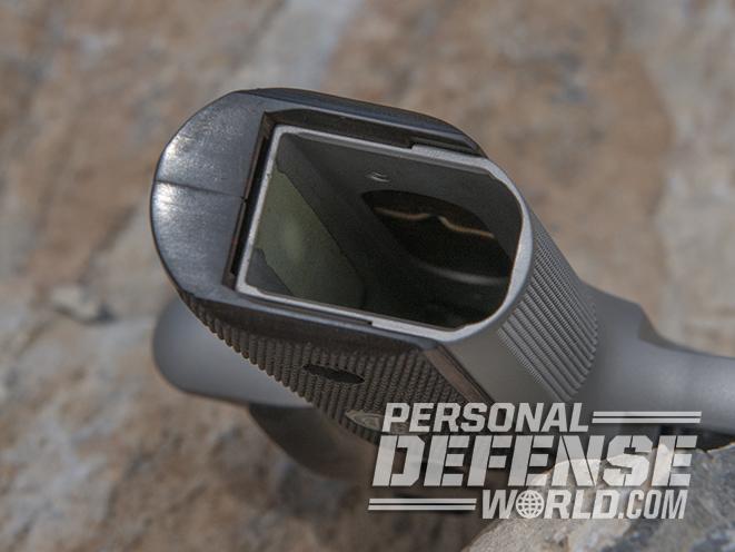 Sig Sauer P229 ASE pistol mag well