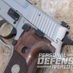 Sig Sauer P229 ASE pistol controls