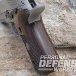 Sig Sauer P229 ASE pistol beavertail