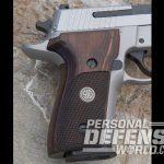 Sig Sauer P229 ASE pistol grip panels