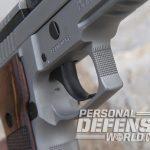 Sig Sauer P229 ASE pistol trigger