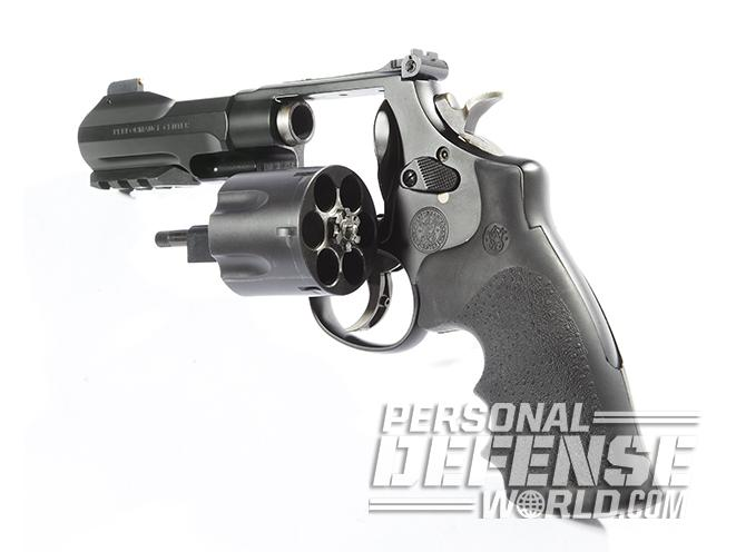 Smith & Wesson Performance Center Model 325 Thunder Ranch revolver empty cylinder