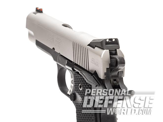Springfield EMP CCC pistol rear sight