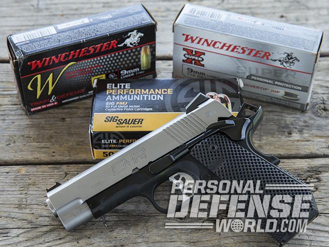 Springfield EMP CCC pistol ammo