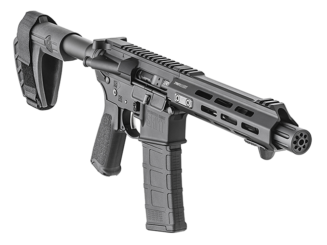 Springfield Saint AR-15 Pistol right front angle