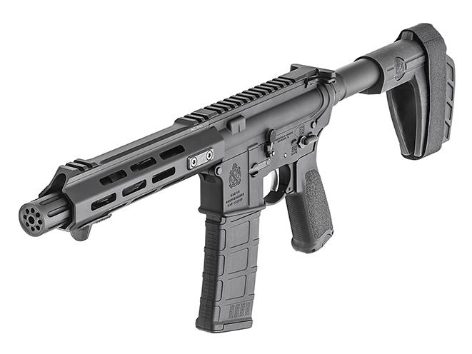 Springfield Saint AR-15 Pistol left angle