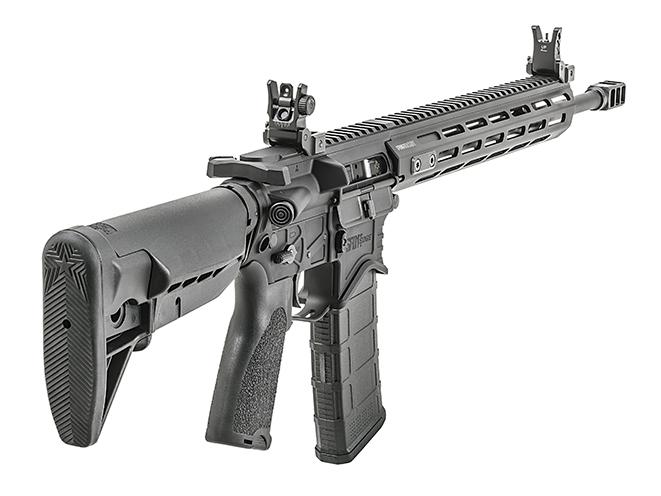 Springfield Saint Edge rifle rear right angle