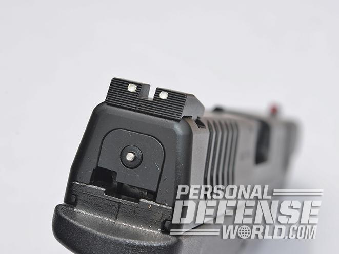 "Springfield XDM 4.5"" polymer 45 sights"