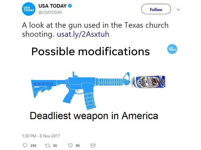 usa today chainsaw bayonet beer attachment