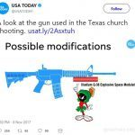 chainsaw bayonet marvin the martian