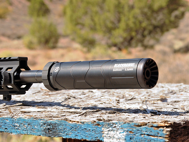 BlackhawkBarrage suppressor 5.56mm Athlon Outdoors Rendezvous profile
