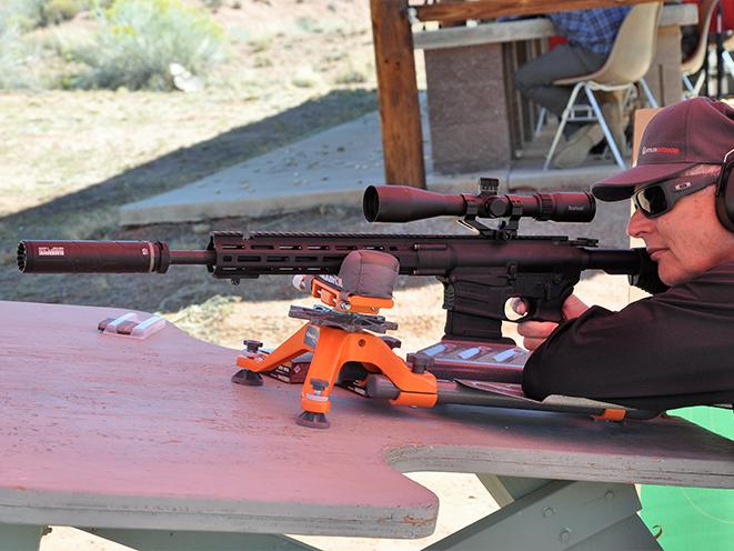 BlackhawkGas Can suppressor 7.62mm Athlon Outdoors Rendezvous left