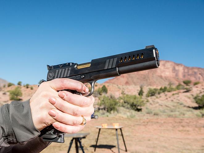 Nighthawk Custom Chairman Pistol Athlon Outdoors Rendezvous aim