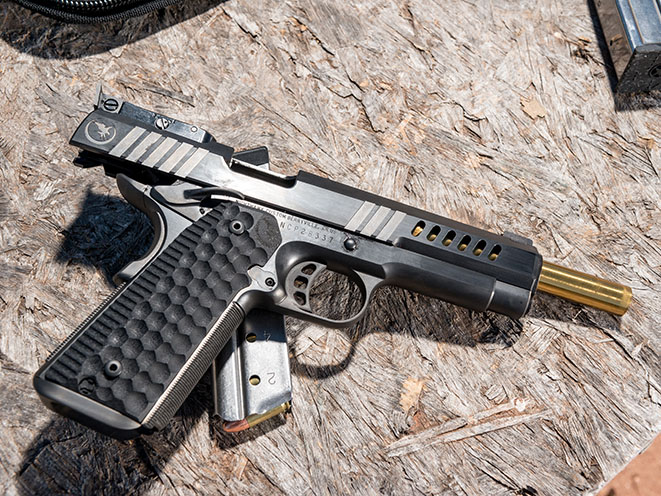 Nighthawk Custom Chairman Pistol Athlon Outdoors Rendezvous slide