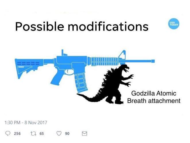 USA Today AR Bayonet Godzilla
