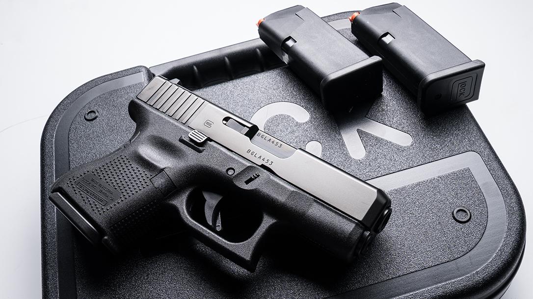 Glock 26 Gen5 pistol launch right