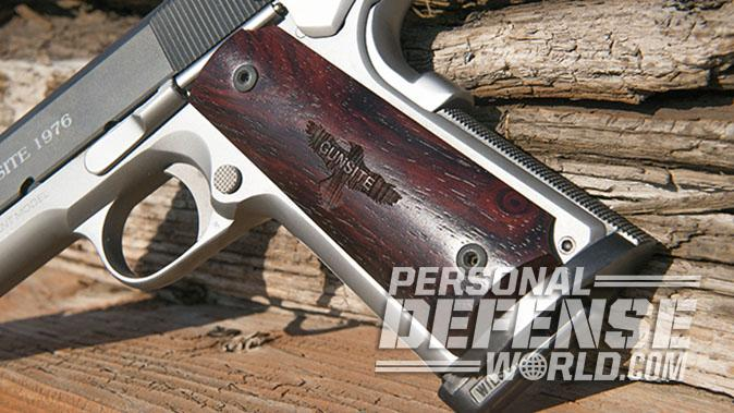 Colt Gunsite 1911 pistol grip panel