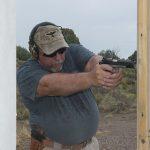 Colt Gunsite 1911 pistol action shooting