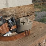 Colt Gunsite 1911 pistol spread