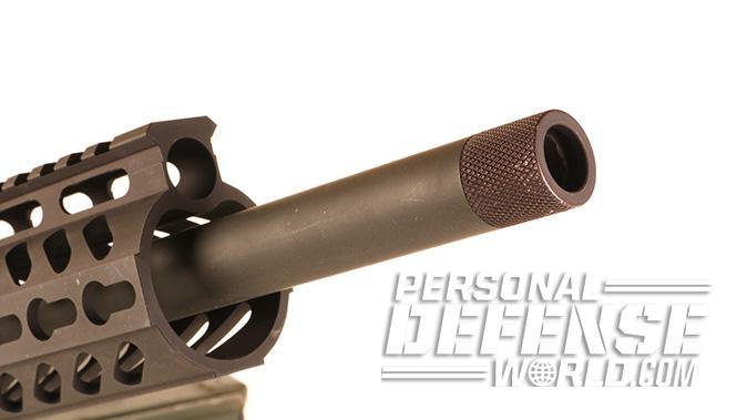 Flint River Armory CSA45 carbine muzzle