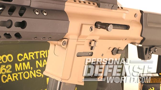 Flint River Armory CSA45 carbine controls