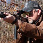 Flint River Armory CSA45 carbine aiming
