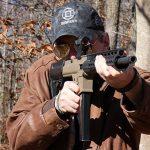 Flint River Armory CSA45 carbine aiming angle