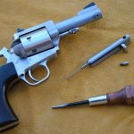 Freedom Arms Model 97 revolver cylinder pin