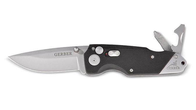 GerberObsidian - Serrated Folding Knife knives under $50