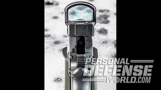 Kimber Super Jägare pistol leupold scope