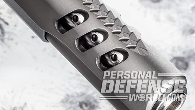 Kimber Super Jägare pistol closeup