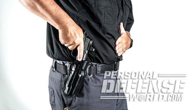 Kimber Super Jägare pistol holster