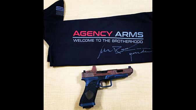 michael rooker agency arms guns