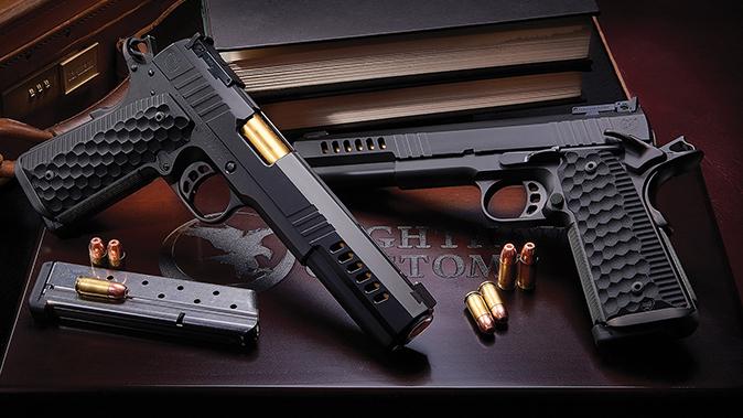 Nighthawk Custom Chairman Pistol side by side