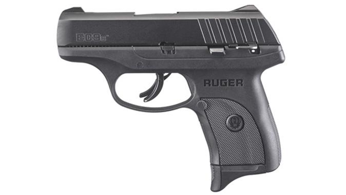 Ruger EC9s pistol left profile