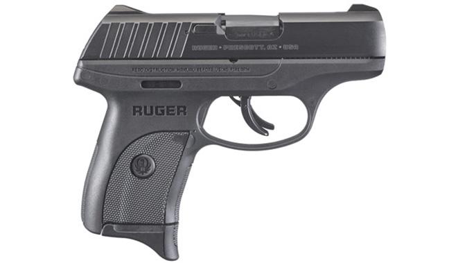 Ruger EC9s pistol right profile