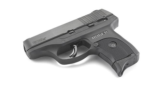 Ruger EC9s pistol side angle