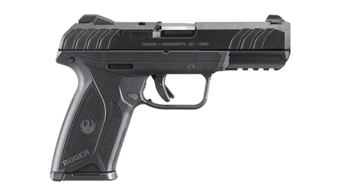Ruger Security-9 pistol right profile