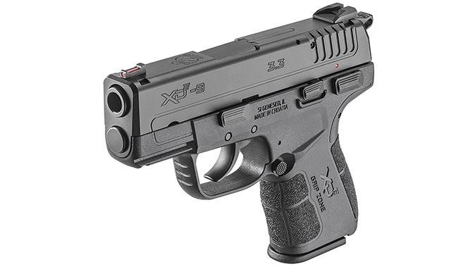 Springfield XD-E pistol left angle