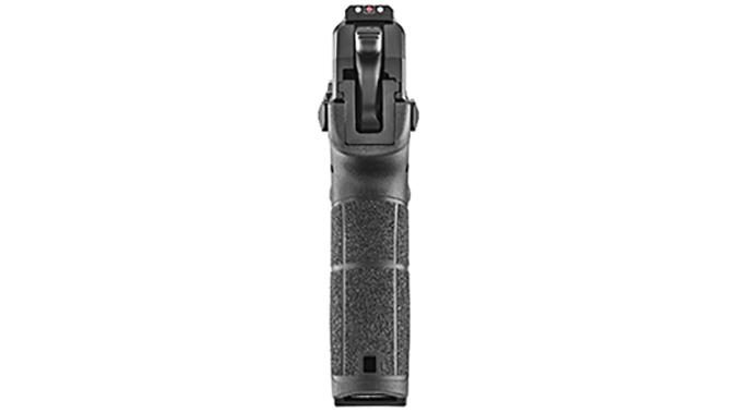 Springfield XD-E pistol rear view