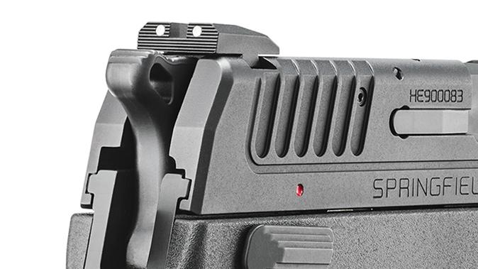 Springfield XD-E pistol rear sight